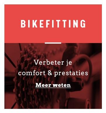 juiste fietspositie en correcte framemaat door bikefitting